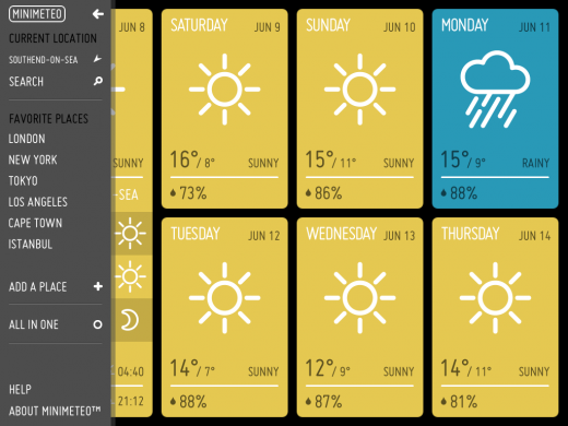 dashboard weather Google Search Weather, App