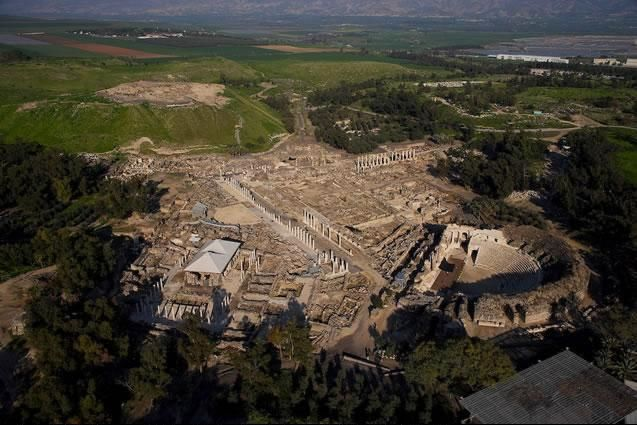 Ancient Beit She'an, Galilee, North District, Israel