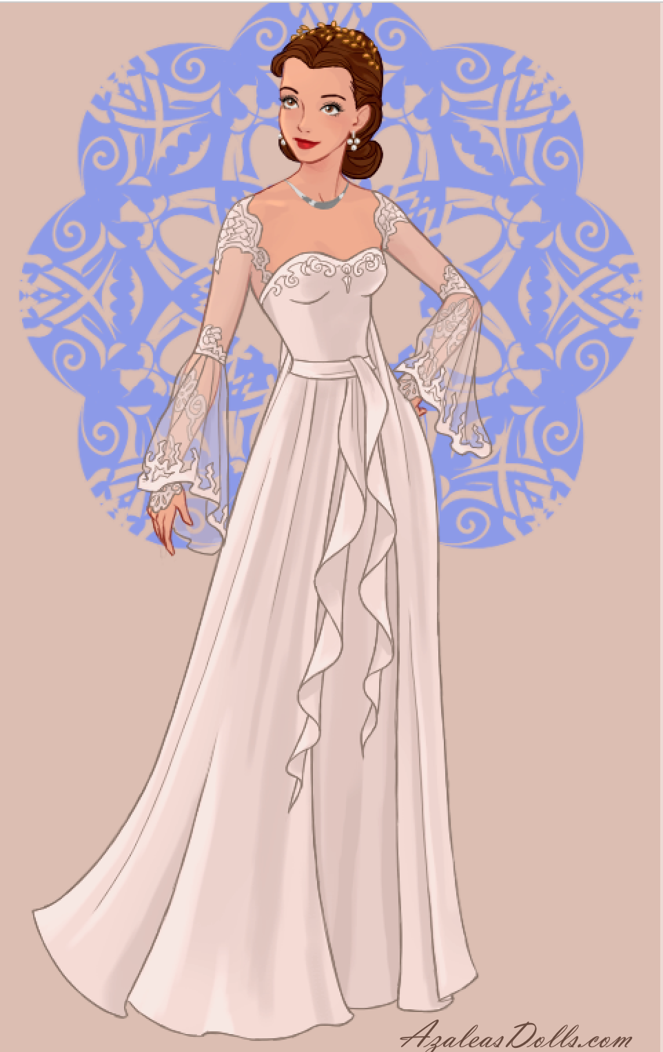 Princess Leia Daughter Of Anakin Skywalker And Padme And Twin Sister Of Luke From Star Wars Fra Disney Wedding Dresses Star Wars Wedding Dress Star Wars Dress