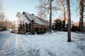 Glaserweiterung als Wintergarten und Hauseingang – Umbau eines Bauernhofes, …-…   – winter garden