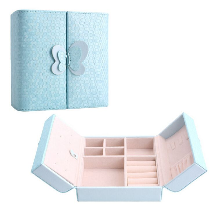 New Arrival Creative Jewelry Box Mini Leather Casket for Jewelry
