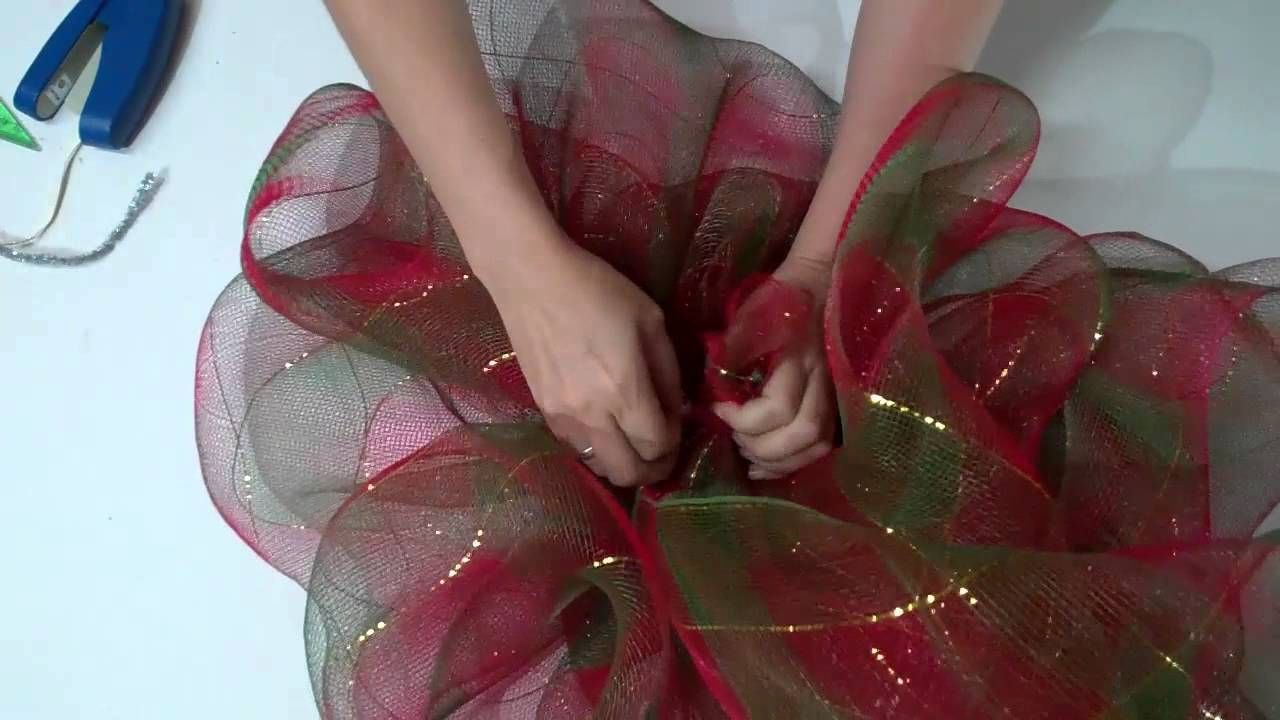 como hacer moos de tull ud how to make tulle bows