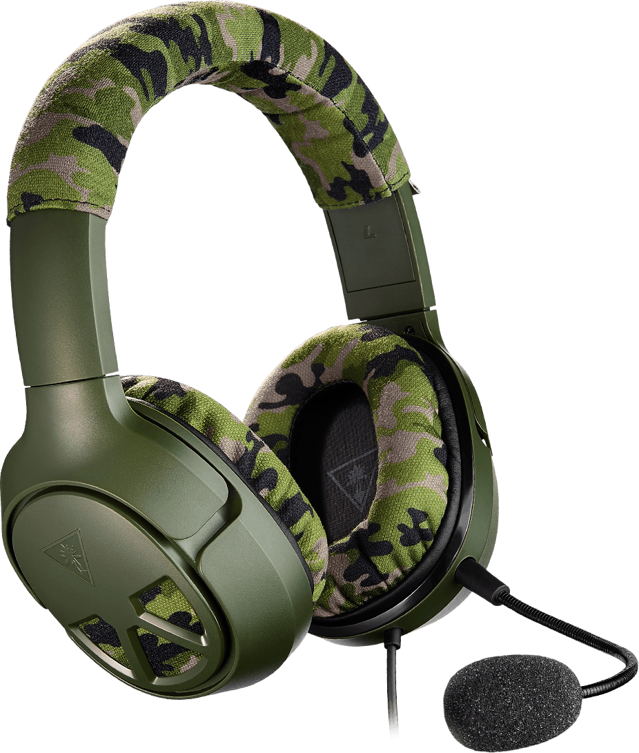 Turtle Beach Launches Recon Camo Multiplatform Gaming Headset For Xbox One Ps4 And Pc Turtle Beach Gaming Headset Gaming Headphones
