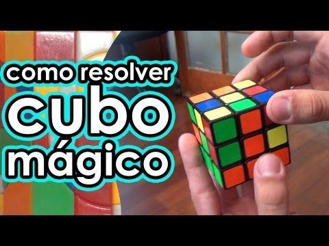 Renan Cerpe ensina a resolver o cubo mágico - YouTube