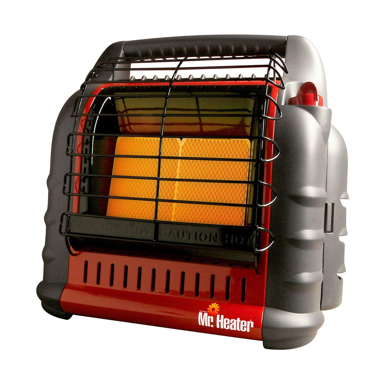 Emergency Preparedness Mr Heater Portable Big Buddy Front View Propane Heater Heater