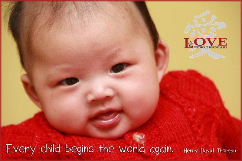 Every Child Begins The World Again Henry David Thoreau Children Core Beliefs Adoption Agencies