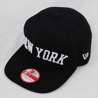 ca9d4224aa2 New Era 9fifty NY New York Yankees Flip Up City Flat Peak Snapback Cap Hat