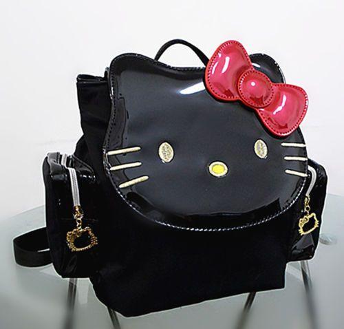 b075c1b99 New Hello Kitty Bag Shoulder Strap Purse Women Girl Gift 2018 Black Backpack  #Unbranded #Backpack