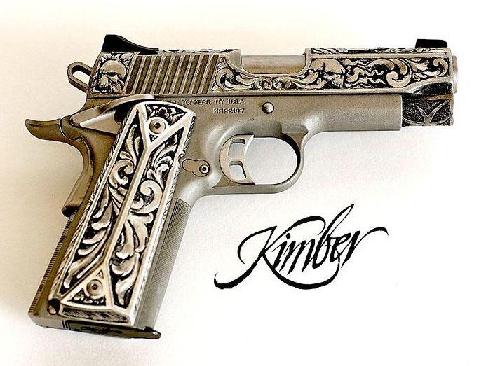 Jesse James Custom Kimber 1911 Hand Guns Guns Pretty Guns
