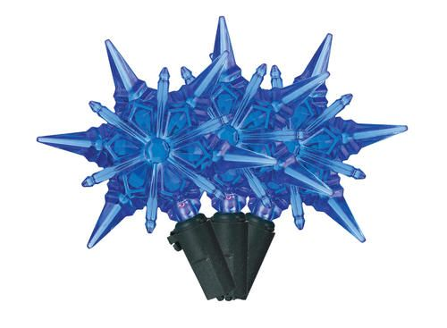 35 LED Light Snowflakes or Star Lights at Menards Christmas ideas