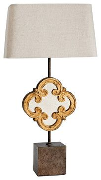 Regina Andrew Motif Mirror Table Lamp modern-table-lamps