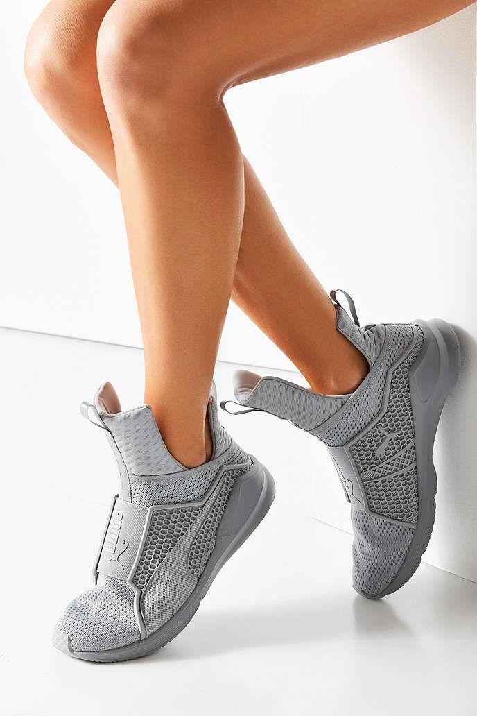 rihanna puma shoes grey