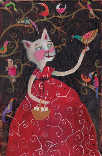 Ilustracion De Doron Sohari Cats Illustration Cat Art Illustration Whimsical Art