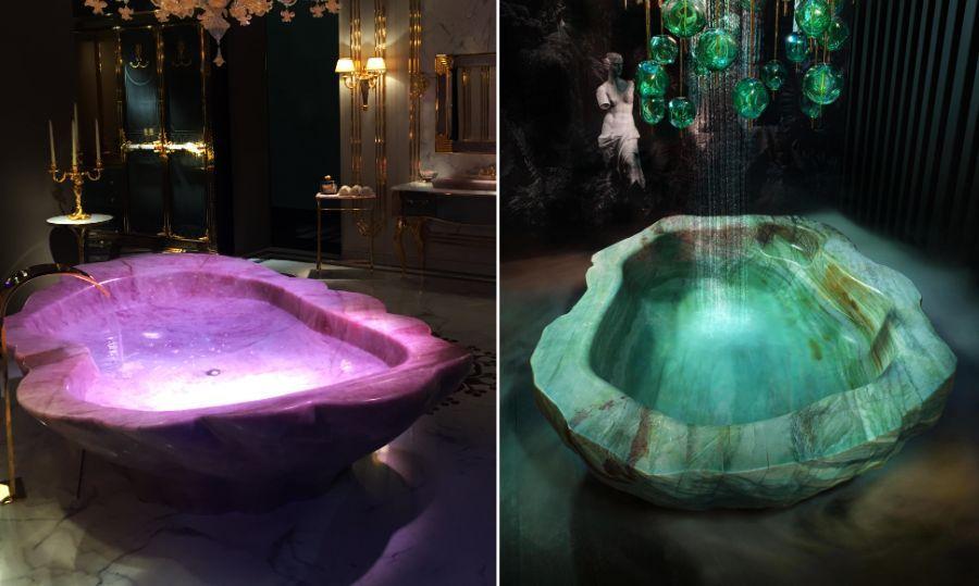 Dubai S Xxii Carat Villas Feature Baldi S 1 Million Crystal