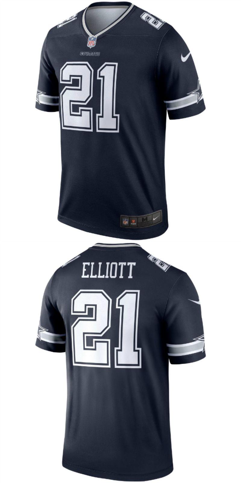 more photos 3888d e53c0 UP TO 70% OFF. Ezekiel Elliott Dallas Cowboys Nike Legend ...