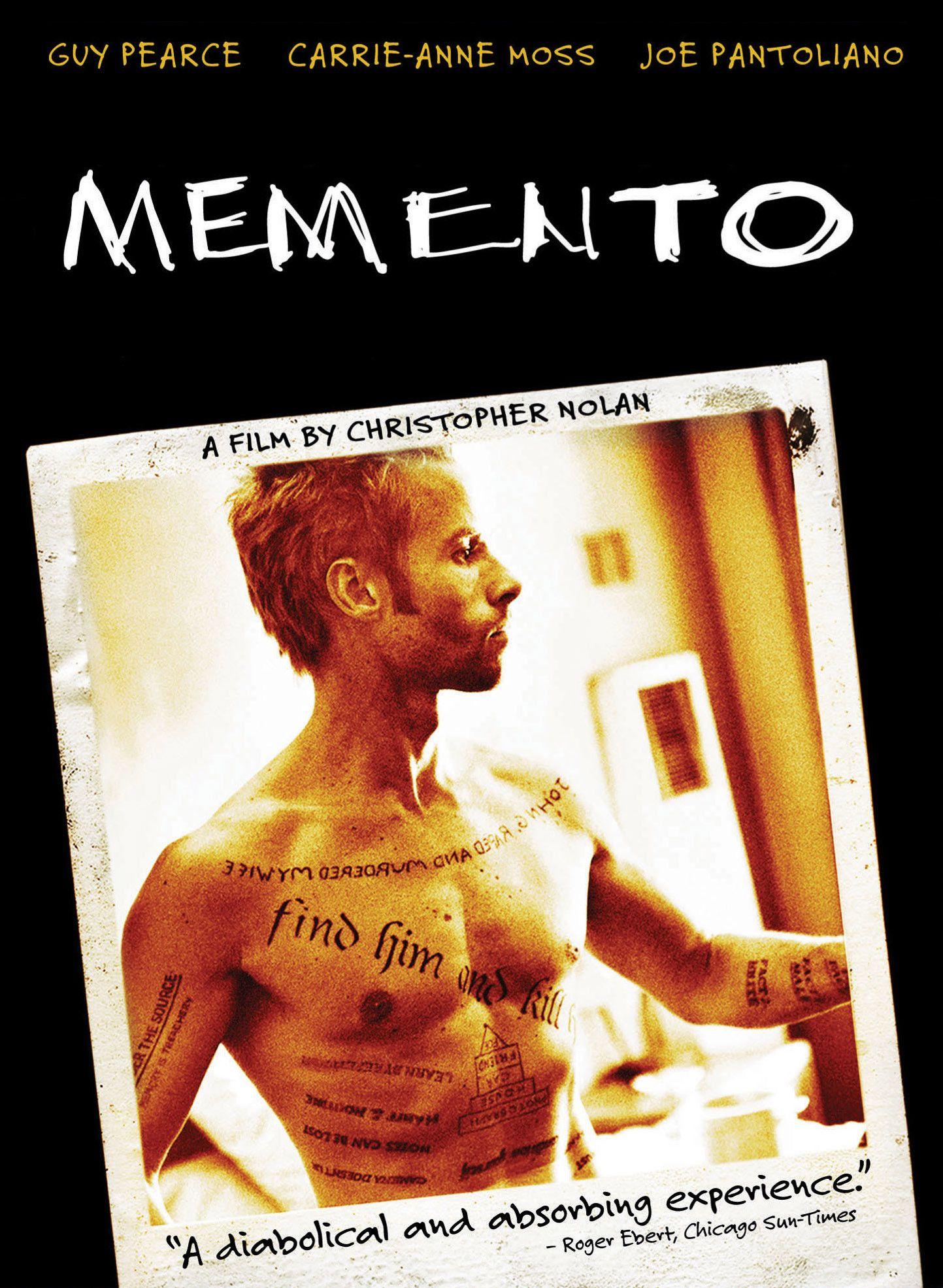 Memento 2000 Best Psychological Thriller Movies Memento Movie Psychological Thriller Movies
