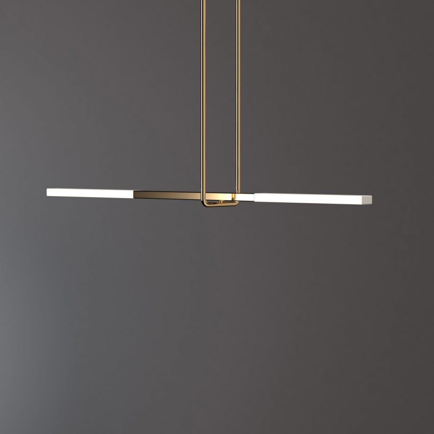 Acrobat Lighting by Porcelain Bear Modern Pendants