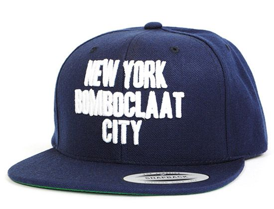 "00329a28b8806 AND SUNS x YUPOONG ""New York Bomboclaat City"" Snapback"