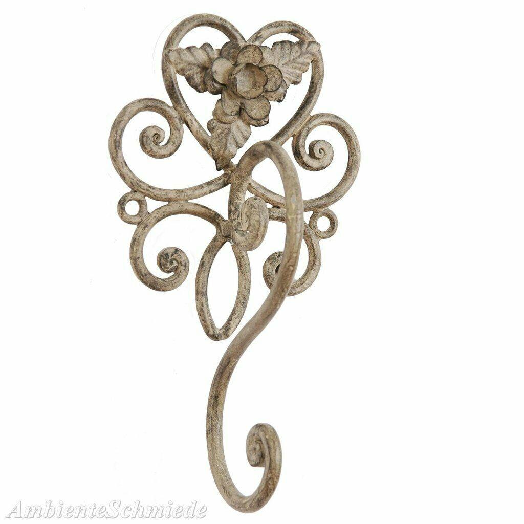 Clayre Eef Handtuchhaken Handtuchhalter Vintage Rose Shabby Landhaus 6y0196 12 95 Handtuchhalter Vintage Landhaus Dekoration Handtuchhalter