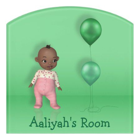 African american baby girl name this room sign tap to african american baby girl name this room sign negle Choice Image