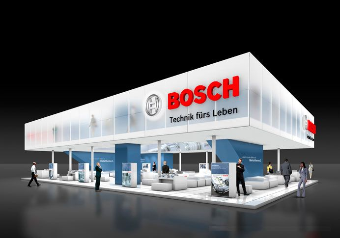 Portable Exhibition Stands In Dubai : Bosch messeauftritt cool typography pinterest