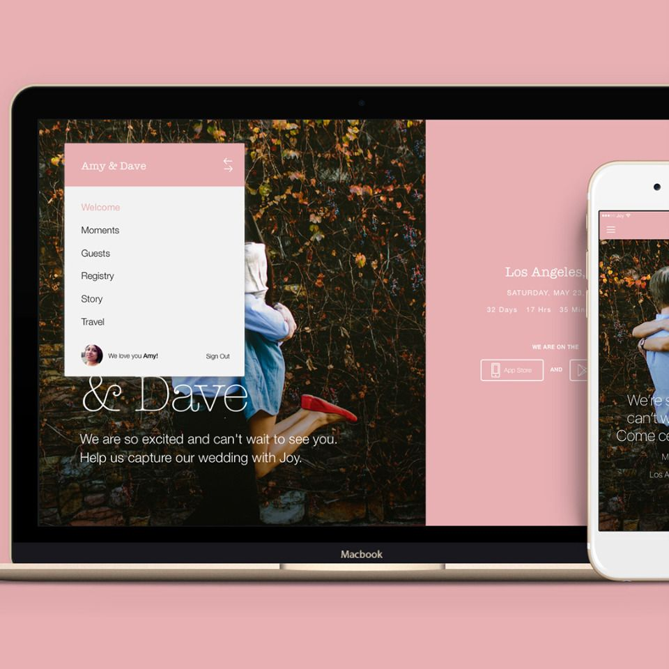 The Only Wedding Website And App You'll Need