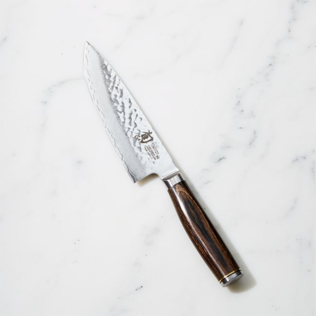Shun Premier 6 Chef S Knife Reviews Crate And Barrel In 2020 Chef Knife Knife Knife Review