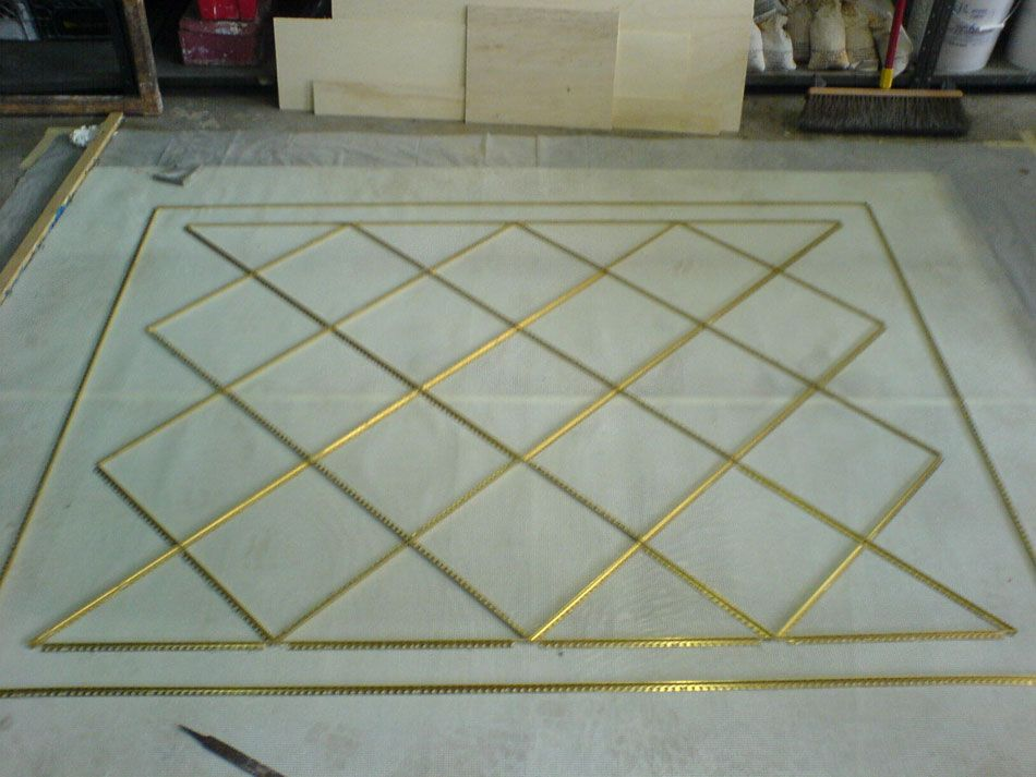 Installation Of Terrazzo Flooring In An Elevator Miami Nice Floors
