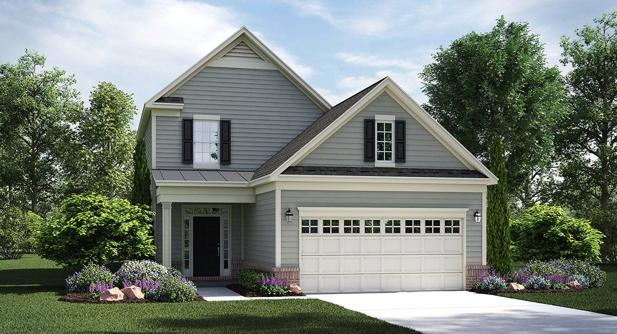 Ivy Glen New Home Plan In Colonial Heritage Colonial Heritage Cottages New House Plans Lennar House Plans