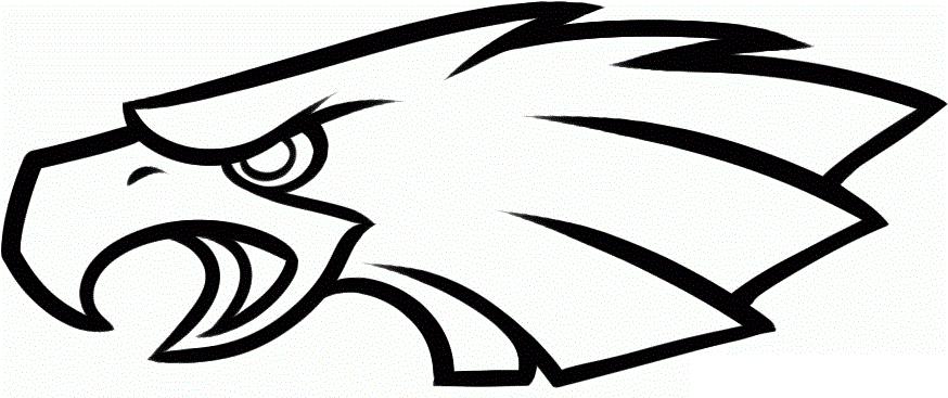 Nfl Coloring Pages Philadelphia Eagles Philadelphia Eagles Logo Eagle Logo Philadelphia Eagles Football