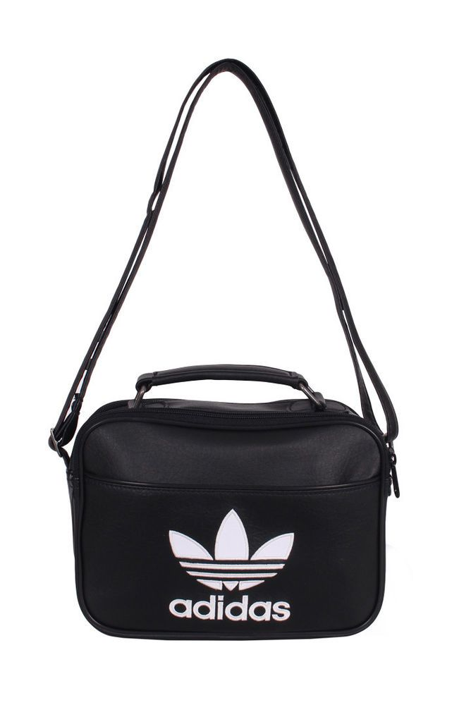 94065a957fb9 adidas Originals Mini Airliner AC Bag Backpack Sports Black Trefoil NWT  AJ8333  adidas  MessengerShoulderBag