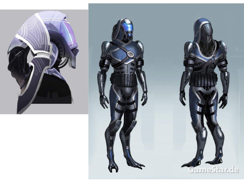 Quarian (male) concept art  | Costume/Concept art etc