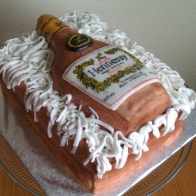 Hennessey cognac cake cake cake