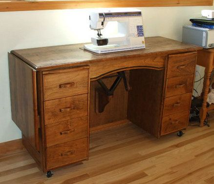 Lovely Car Jack Sewing Machine Lift   A Smart Solution For A Sewing Table!