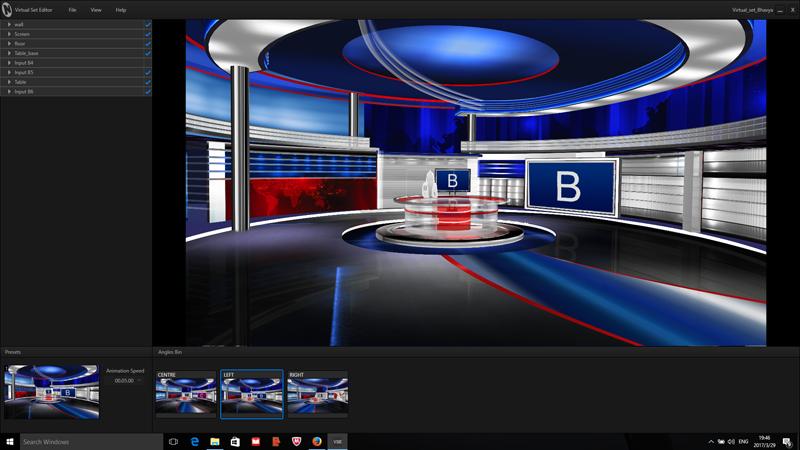Free Tricaster Virtual Studio Bhavya Virtual Set Store Virtual Studio Free Green Screen Backgrounds Tv Set Design