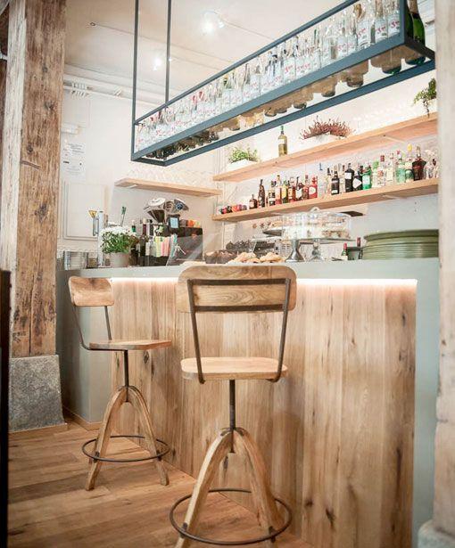 resto bar le-cocó-barra-de-madera   Burguett mairena   Pinterest ...