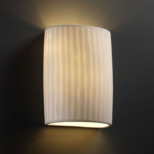 Limoges Small Cylinder Translucent Porcelain 1000 Lumen Led Wall Sconce Justice 1 Light Ba Wall Sconces Sconces Wall Ceiling Lights