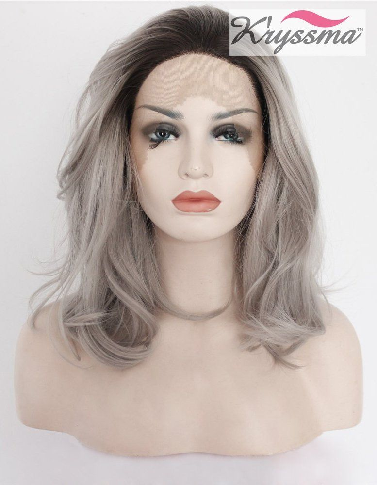 Short Grey Hair Wigs