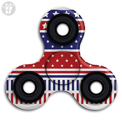 Stars And Stripes Patriotic Borders Fid Spinner High Speed Tri