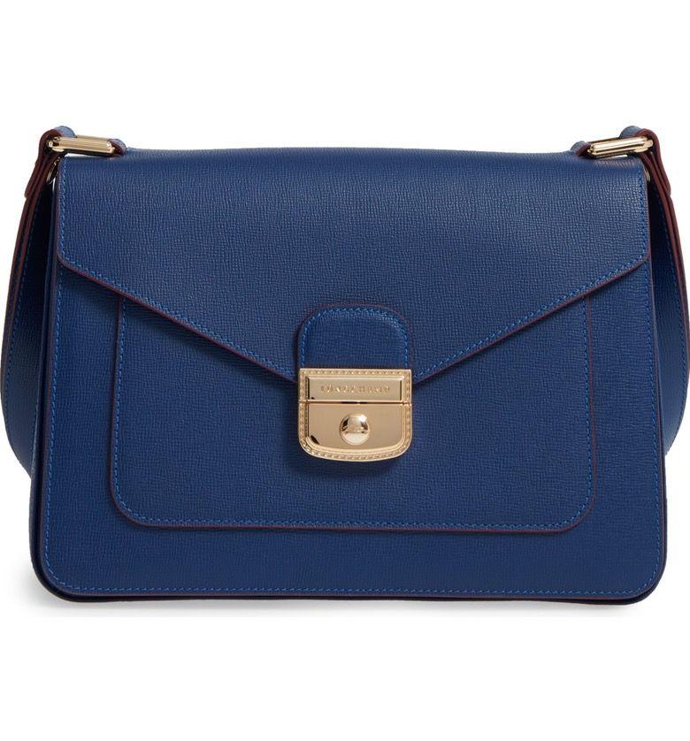 0dac36c2d9 Main Image - Longchamp Pliage Heritage Leather Shoulder Bag A beautiful