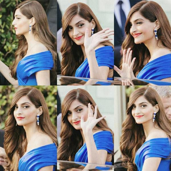 gorgeous Sonam dazzling everyone at cannes