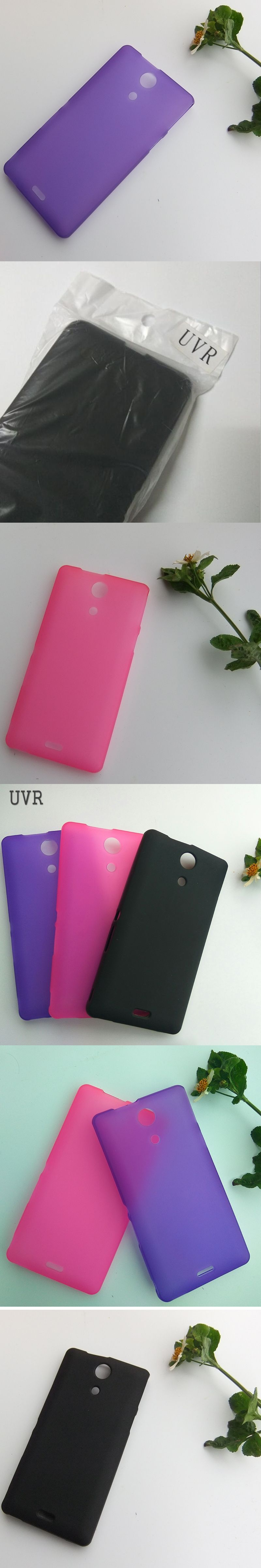 UVR Matte Soft TPU Silicone Gel Anti Knock Case Cover For Sony Xperia ZR C5502 C5503