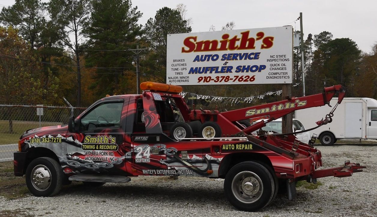 Wrapped Truck Auto Service Monster Trucks Auto Repair