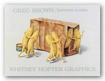 CUISINE ART PRINT Cookin' Greg Brown