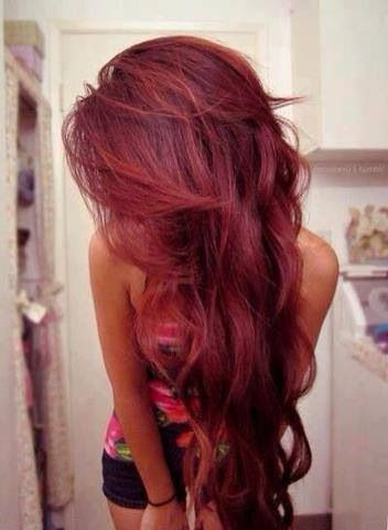 Awesome What Color Red to Dye My Hair