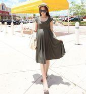 2014 mode sommer winter herbst frühling kausalen modell mutterschaft kleid ... ...   - Schwanger Kleidung -   # #Schwanger Kleidung
