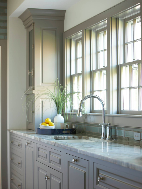 what countertops go with gray cabinets  marble  granite