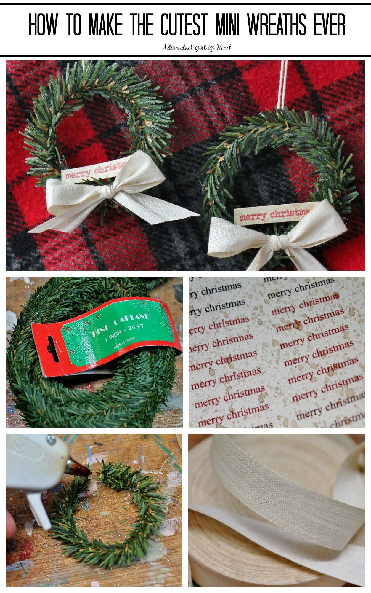 How to Make the Cutest Mini Wreaths You ve Ever Seen