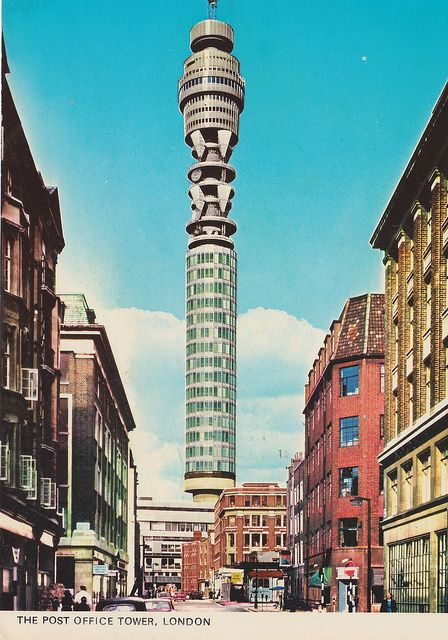 Clipstone Street then Post fice Tower Pinterest