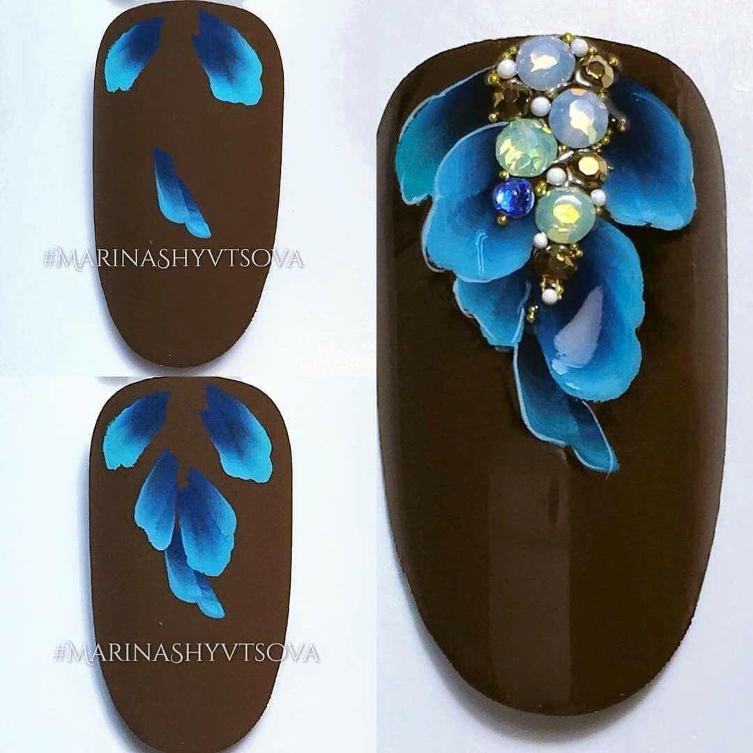 Pin von Galina Klassen auf Fingernägel | Pinterest | Nagelkunst ...